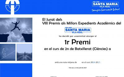 PREMIS ALS MILLORS EXPEDIENTS ACADÈMICS