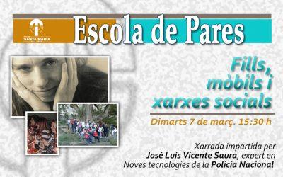 """XARRADA: """"FILLS, MÒBILS I XARXES SOCIALS"""""""