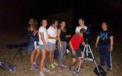 ACAMPADA ASTRONOMIA-METEREOLOGIA