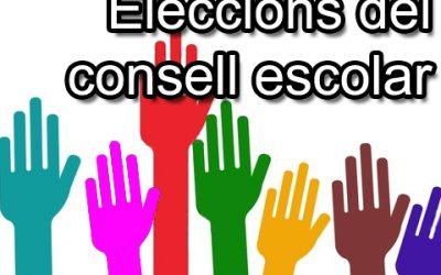 ELECCIONS AL CONSELL ESCOLAR