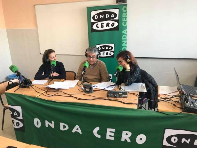"""EMISSIÓ DEL PROGRAMA """"CASTELLÓN EN LA ONDA"""" DES DEL COL·LEGI"""