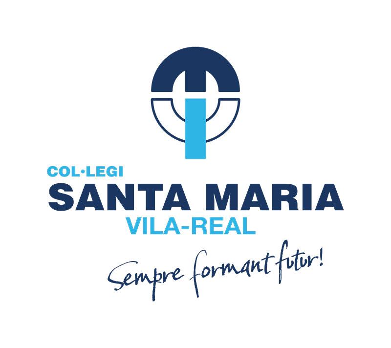 Logotipo del Colegio Santa Maria de Vila-real en formato JPG y PNG