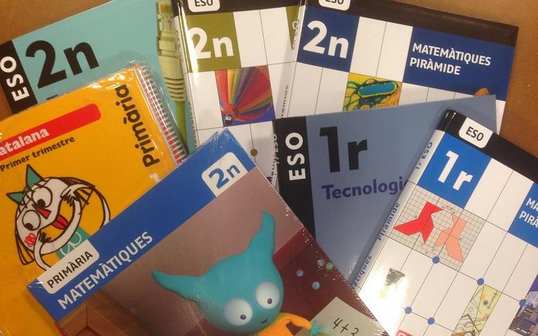 llibres de text curs 20202-2021