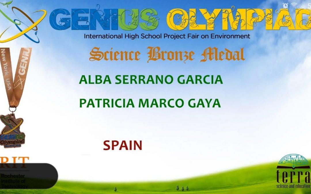 Premi internacional d'investigació científica als EUA per a dues alumnes del nostre centre